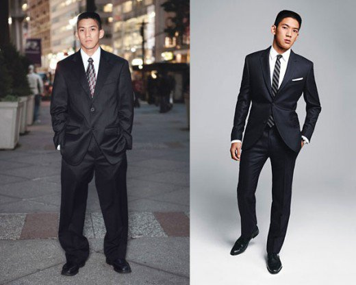 hamid castro guy in suit before and after