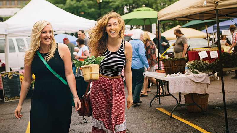 meet women farmers market