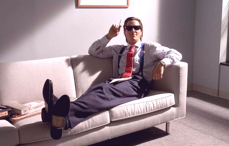 """""""American Psycho"""" Secret Earns You More Respect at Work?"""