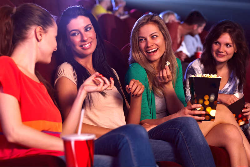 How To Pick Up a Girl at The Movies (Even if She's With A Date!)